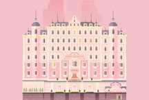The Aesthetics in Wes Anderson's Movies