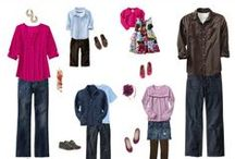 Portrait Sessions:  What to Wear - Family Styles