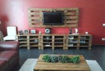 Pallets Ideas / by Home Design