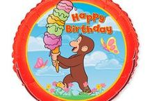 Curious George Birthday Party Supplies and Ideas / Scouring the web for cool Curious George Birthday Party activities and ideas.  Be Sure to check out our board on Curious George Birthday Cakes too!