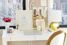 office decor / An inspired, creative workspace is everything...