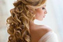 Cвадебные прически // Wedding Hair Styles / Записаться на процедуру наращивания волос можно по телефону +7 499 390-80-40 (Москва)