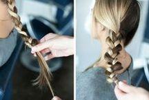 Прически своими руками // DIY Hair Styles / Записаться на процедуру наращивания волос можно по телефону +7 499 390-80-40 (Москва)