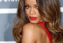 Длинные волосы. Знаменитости / Long hair. Celebrities