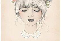 Girls: Drawings & Illustrations