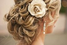 """Hair comes the bride! / My """"go to"""" inspirational board of bridal work contributed by fellow craftsman, hairstylists from all around the world..."""