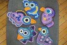Frihekling - Freeform crochet / Freeform crochet, colours, technique, frihekling, hekling uten mønster, farger, teknikker