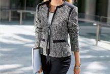 Patterned Work Wear