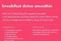 smoothies & detox ideas