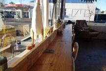 Running Duck Cafe Geraldine / These attractive tables and benches were made by the owner of this cafe from recycled timber purchased from Musgroves. https://www.musgroves.co.nz/