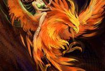 Fire elementale(2xFire)/ Phoenix(2xFire+Air)