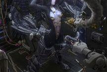 \\Cyberpunk/Sci-fi_Worlds