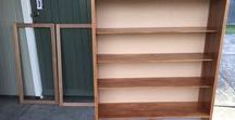 DIY With Reclaimed Rimu / This customer project shows clever creations using reclaimed rimu purchased from Musgroves.  Get your reclaimed building materials from https://www.musgroves.co.nz/