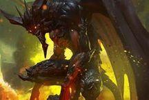 Magma(Earth+Fire)+/Demonic