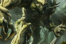 ``Ent/Dendroid_(2xFores+Earth        /Earth+Water/Swamp)
