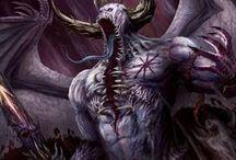 Chaos(Demon+Dead+Dark+Blood+Forest+Organic+Brightly shown Sins)