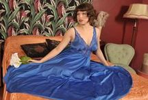 Nightgowns / For the fascination of silky, shiny and filmy nightgowns