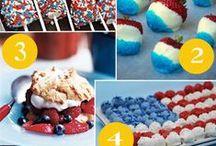 Holiday--Fourth of July / Birthday ideas