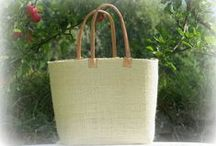 Fair Trade baskets / A selection of Fair Trade baskets made of environmentally sustainable natural fibers that are wildgrowing where the African artisans live. Beautiful and practical in everyday life.