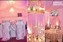 Romantic Pinks & Candlelight / Photos courtesy of Chantilly Wedding Photography. Decor & Candles- Truly Haute Events / by Nottoway Plantation