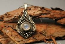Middle-earth Jewellery / Jewelry inspired by Middle-Earth, crafted by myself from silver. If you would like to see more of my works, please follow @Melonarium :)   #elven #dwarves #hobbit #LOTR #Tolkien