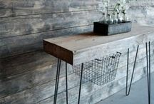 Camerich Consoles / The console table, is there a more adaptable piece of furniture than this? It can serve for so many varied purposes from a vanity in the bedroom underneath a  mirror, a small desk for your laptop with a stool tucked underneath , or as a book shelf displaying your mini library.