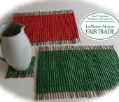 Fair Trade for Christmas / Fair Trade crafts for warm and merry Christmas around the world.