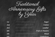 Anniversary ideas / 1st anniversary