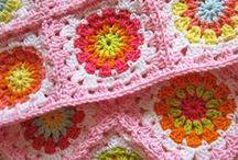 PLAIDS / Tricot & Crochet