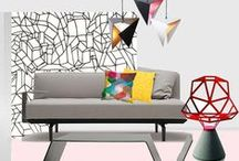 5 Ways To Experiment With Geometric Design In Your Home / It appears as if the trend for Geometric Design is here to stay, and we at Camerich could not be happier! It is a truly versatile aesthetic that can be adapted to fit almost any interior, from retro to contemporary, global to vernacular and minimal to eclectic. Here are 5 ways in which you can introduce geometric design to your home, with the help of a few choice purchases and even a bit of D.I.Y.