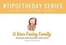 The #tipoftheday Series / Posts showing you tips & tricks that are all car seat safety related. :)