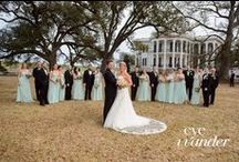 Soft Pinks & Baby Blues / Floral by Kali The Plantation Florist & Photos by Eye Wander Photography / by Nottoway Plantation
