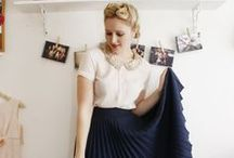 Pleated / Pleated skirts