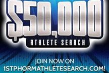 1st Phorm Athlete Search / The 2016 1st Phorm Athlete Search is live! Win $50,000 and an athlete contract with us!! Enter now at www.1stphormathletesearch.com