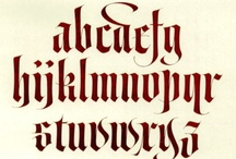 Calligraphy / by Alison Hanks