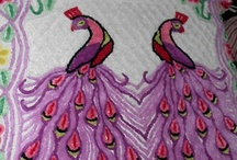 Peacock Chenille Bedspreads / by Barbara Edwards