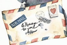 Air Mail / by Alison Hanks
