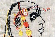Embroidery / Le fil  n° 8 de DMC