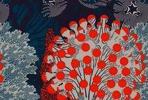 """The patterns elsewhere / papier cadeau, papier peint, juste pour le """"fun"""" des dessins en couleur pour égayer le quotidien."""