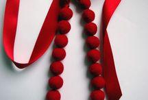 Accessoires rouges