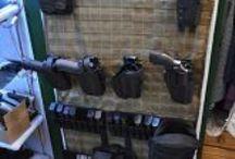 Gun Safe MOLLE Organizer / Maximize your gun safe storage with the Wilde Built Tactical gun safe MOLLE Organizer Door Panel. Custom made to fit your door. 100% American Made!