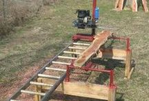 Tool - Chainsaw mill
