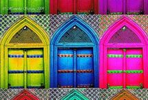 The more colours the merrier / Color up your life!