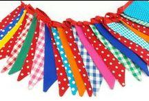 Vlaggenlijnen Vanjeanne / Een vlaggenlijn voor elk feestje