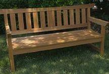 Building - Garden chair, bench, table ...