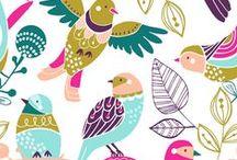 PATTERN - BIRDS