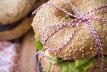 Brote, Baguette, Bagels & Sandwiches / Alles was man belegen kann.