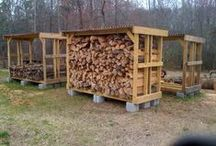 Building - Wood shed