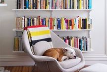 Dog @ Home / Dog decor, comfy dog-friendly spaces and dog design ideas