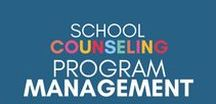 School Counseling Program Mgt. / Managing a school counseling program at three buildings isn't easy! On this board, I share some of my favorite tips on ways to best manage your school counseling program.